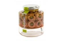 Sardellenfilets mit Kapern in Olivenöl