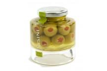 Gefüllte Oliven in Olivenöl